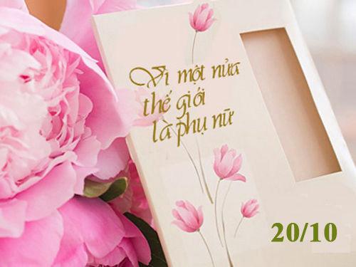 Mách bạn cách chọn quà cho mẹ, vợ, người yêu ngày 20-10 ý nghĩa nhất